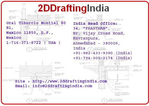 2D Drafting India